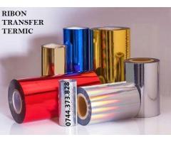 Ribon folio imprimare termica-negru,auriu,argintiu,rosu,albastru,alb…