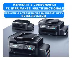 Service imprimante si consumabile cu livrare rapida in Bucuresti si Ilfov.