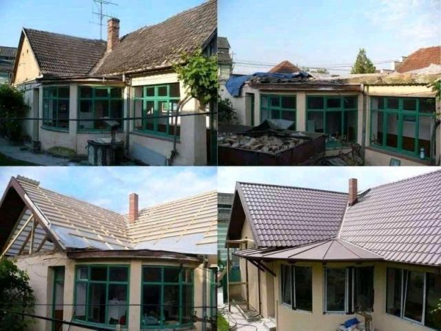 Reparații acoperișuri firmă de acoperișuri și hidroizolații construcții